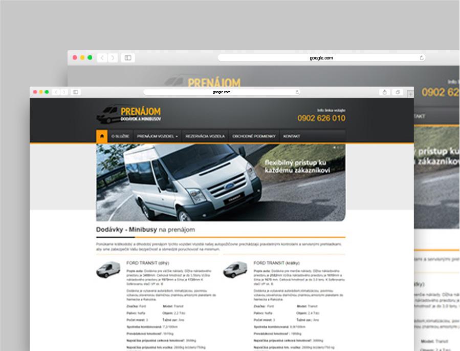 ESEF - Prenájom dodávok a minibusov